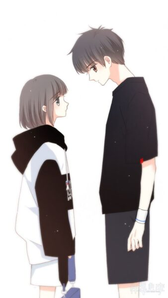 tải ảnh anime cặp đôi yêu nhau