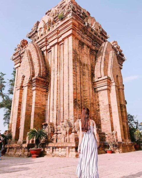 Tháp Bà ở Nha Trang