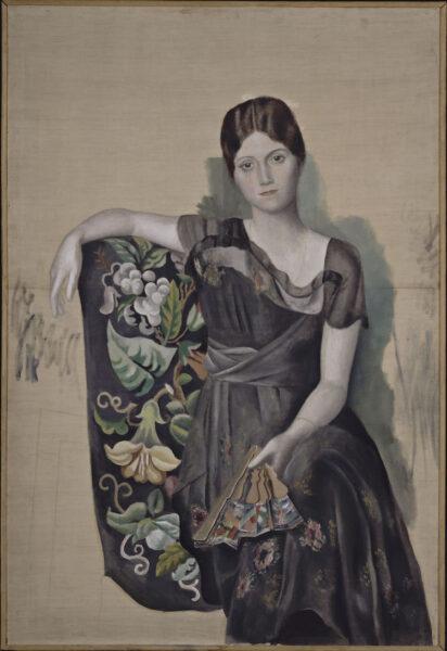 Tranh vẽ Picasso Chân dung người vợ đầu Ogla