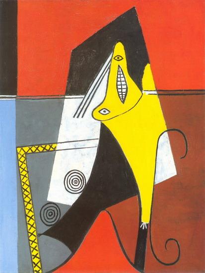 Tranh vẽ Picasso Femme dans un fauteuil