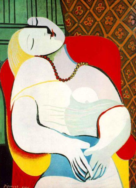 Tranh vẽ Picasso Le Rêve