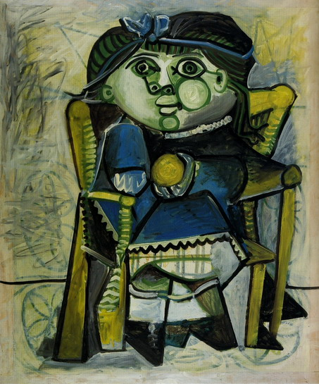 Tranh vẽ Picasso Paloma a l`orange