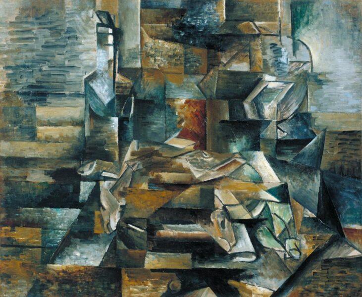 Tranh vẽ Picasso thuộc trường lập thể
