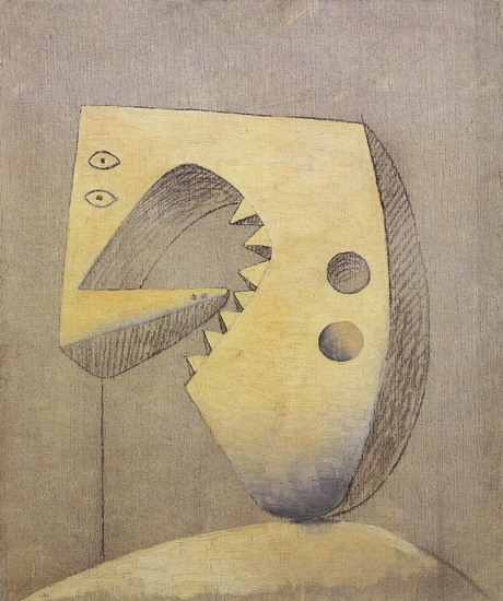 Tranh vẽ Picasso Visage