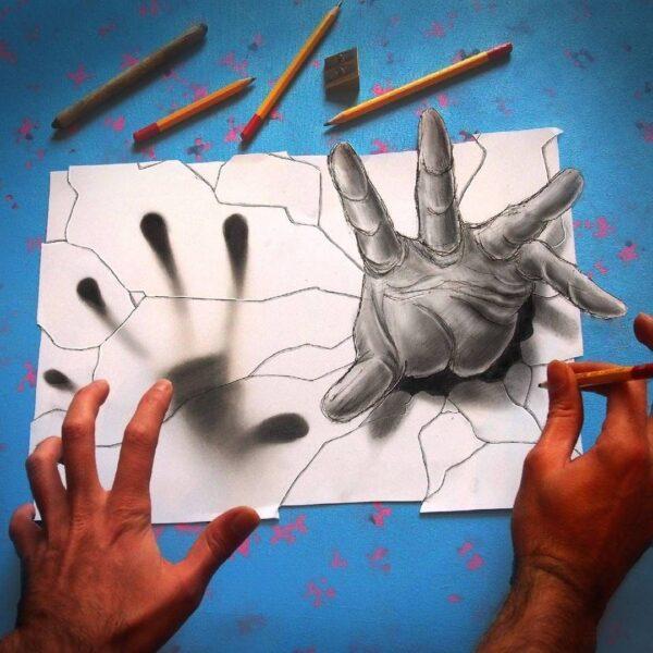 Vẽ tranh 3D cực độc