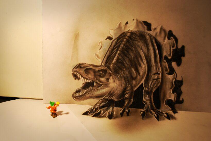Vẽ tranh 3D sống động