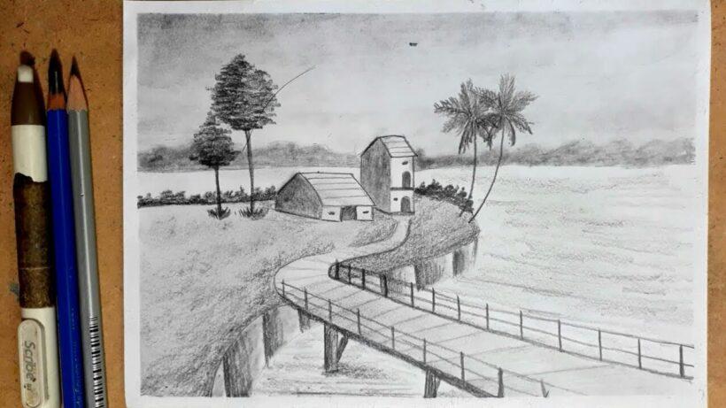 Vẽ tranh đẹp bằng bút chì