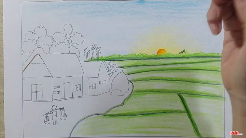 Vẽ tranh đẹp, đơn giản, đa dạng đề tài dành cho người học vẽ