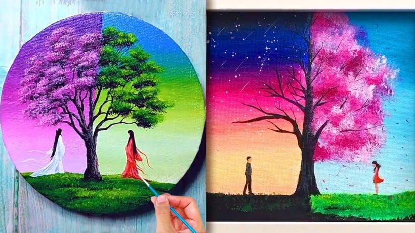 Vẽ tranh nghệ thuật đẹp