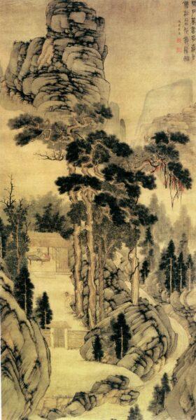Vẽ tranh thuỷ mặc phong cách cổ