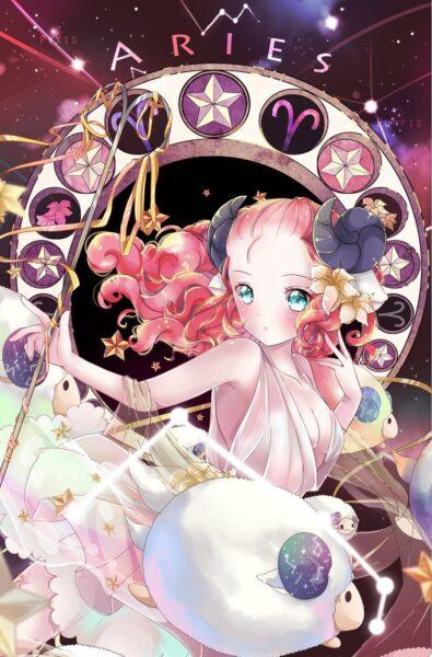 Ảnh 12 cung hoàng đạo anime cung Bạch Dương