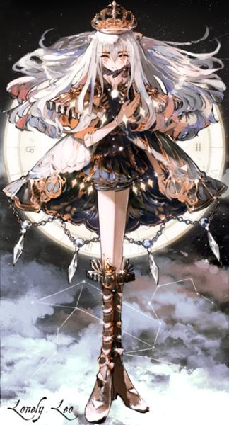 Ảnh 12 cung hoàng đạo anime cung Sư Tử