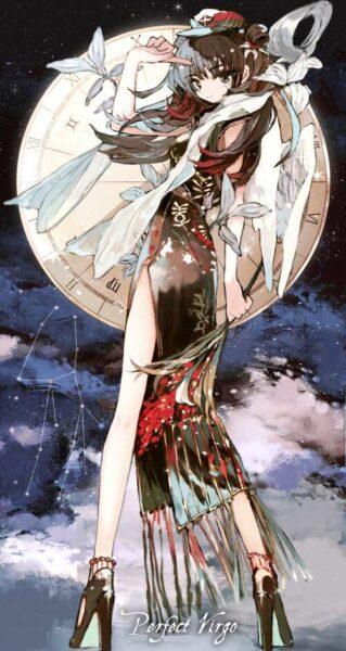 Ảnh 12 cung hoàng đạo anime cung Xử Nữ