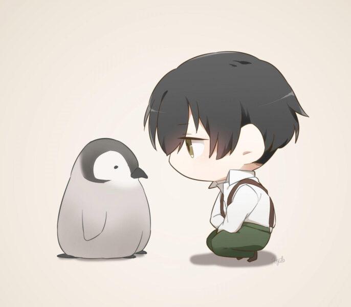 Ảnh anime chibi boy cute, dễ thương