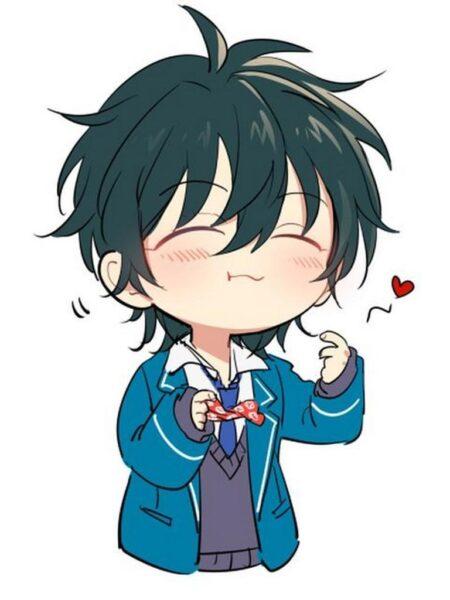 Ảnh anime chibi boy cute đẹp