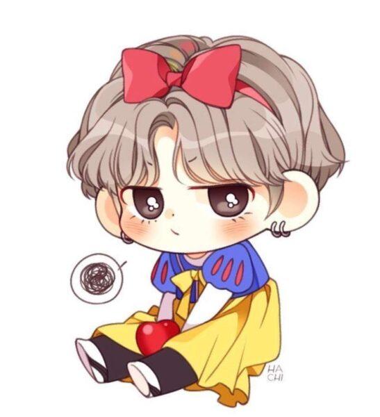 Ảnh anime chibi cute đẹp, dễ thương