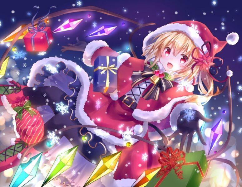 Ảnh anime cô gái mùa đông