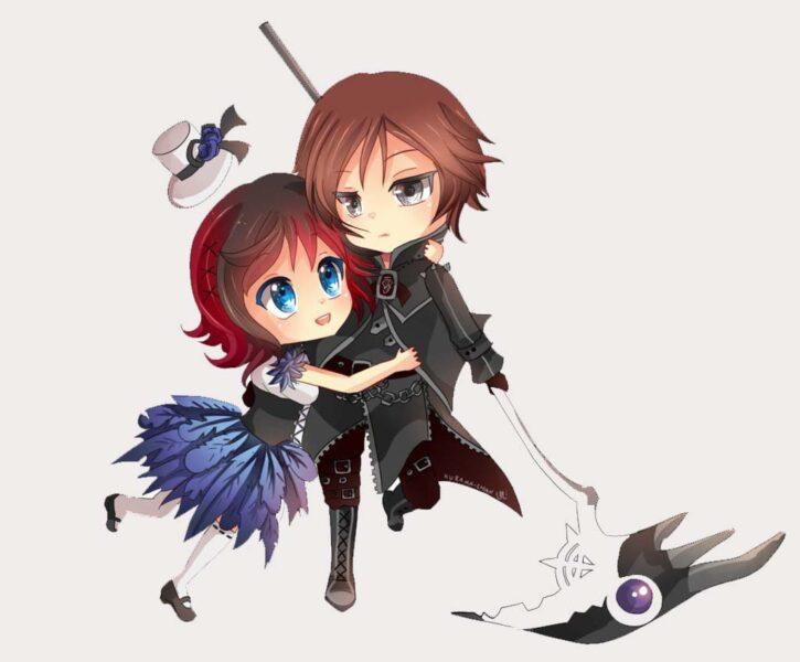 Ảnh anime cute đẹp về tình yêu
