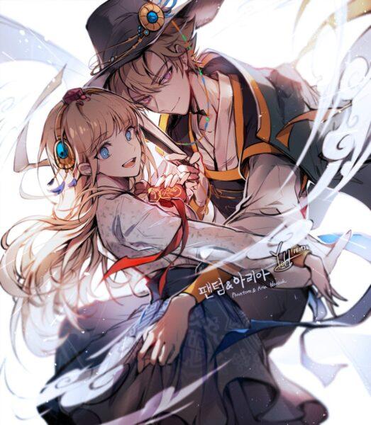 Ảnh anime Hàn Quốc lãng mạn