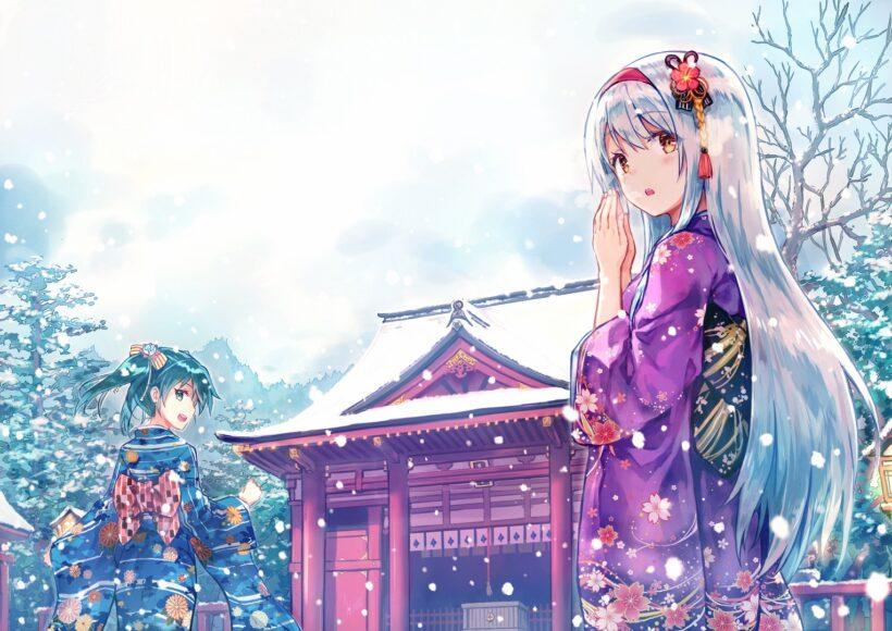 Ảnh anime mùa đông