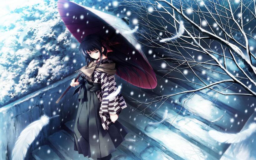 Ảnh anime mùa đông buồn