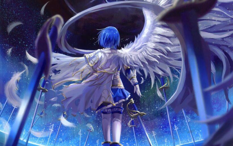 Ảnh anime thiên thần đẹp