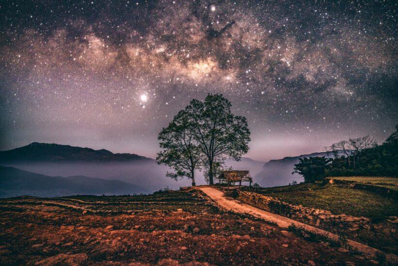 Ảnh bầu trời ban đêm đẹp