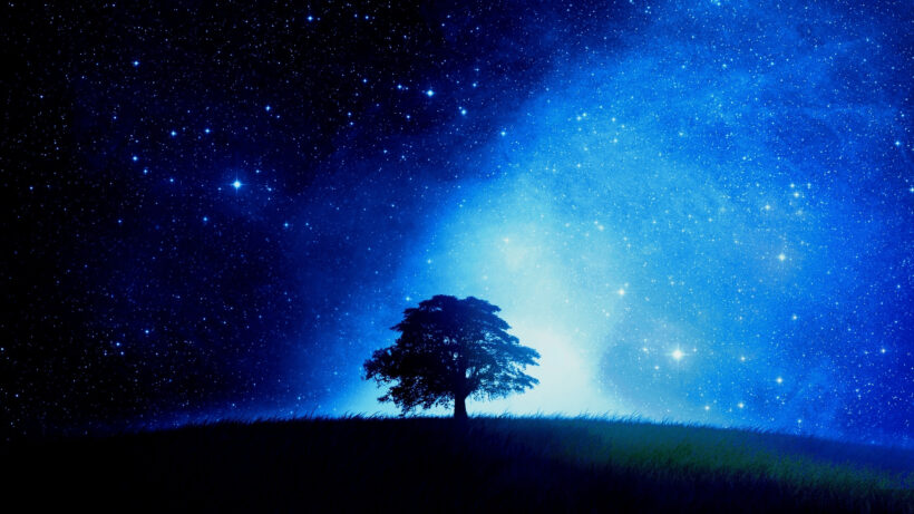 Ảnh bầu trời đêm cực đẹp cho máy tính
