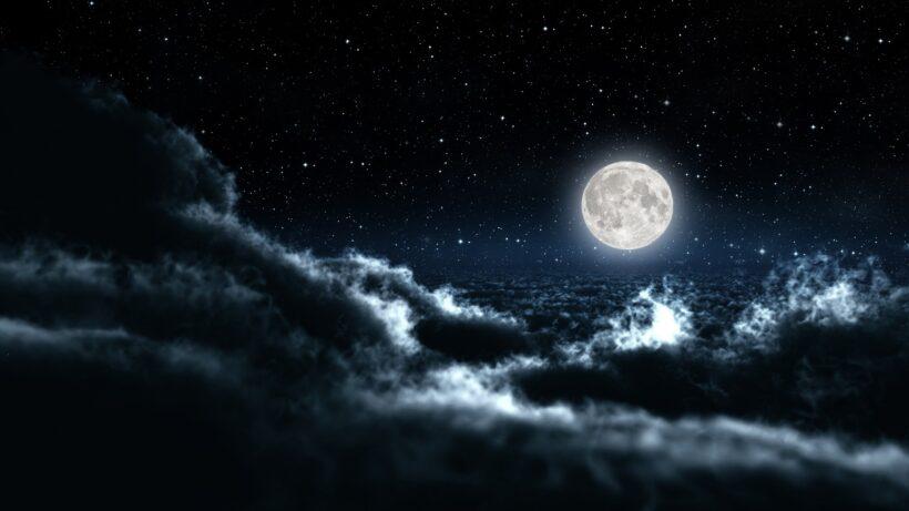 Ảnh bầu trời đêm đầy sao sáng lấp lánh