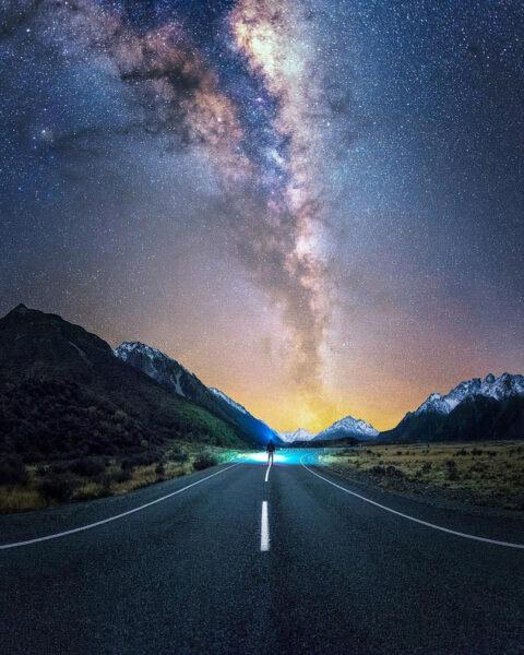 Ảnh bầu trời đêm đẹp ấn tượng