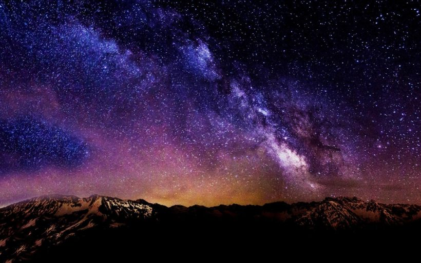 Ảnh bầu trời đêm đẹp chất