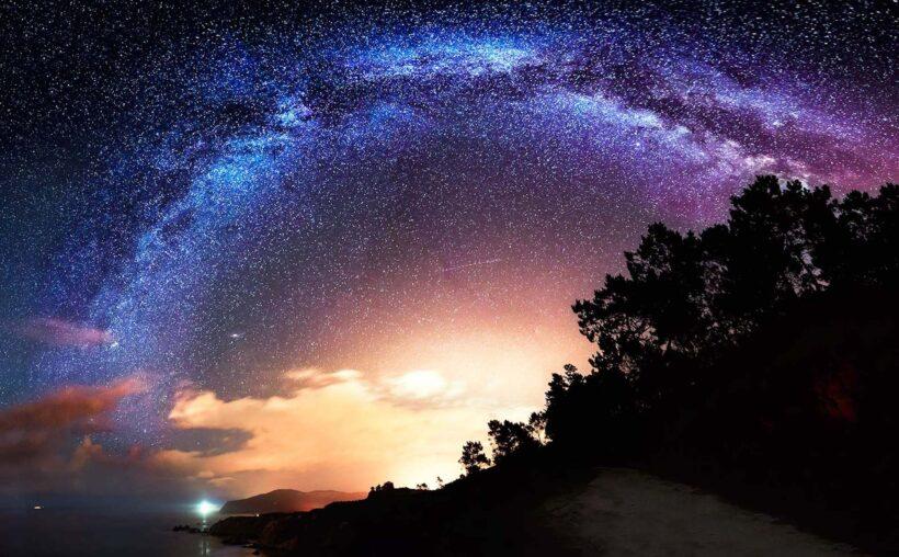 Ảnh bầu trời đêm đẹp lung linh