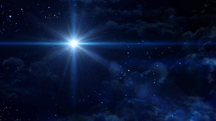 Ảnh bầu trời đêm đẹp sao sáng