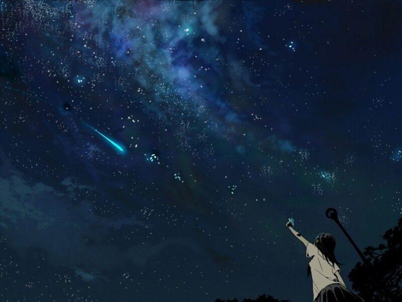 Ảnh bầu trời đêm sao đẹp