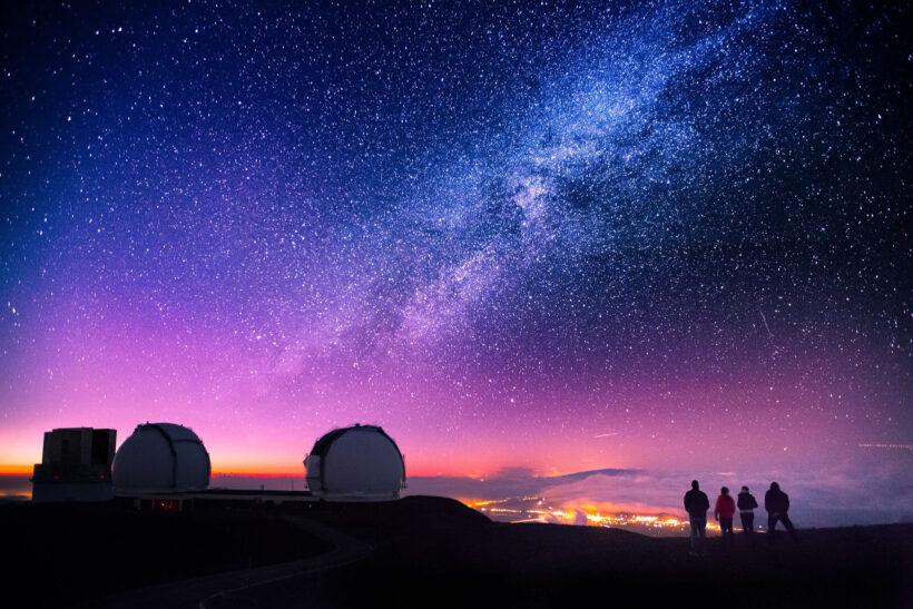 Ảnh bầu trời đêm tuyệt đẹp 4k