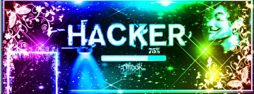 Ảnh bìa hacker 7 màu