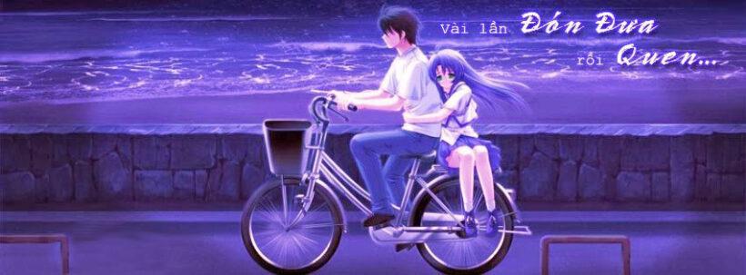 Ảnh bìa tình yêu anime đẹp cho Facebook