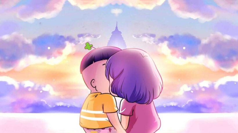 Ảnh bìa tình yêu lãng mạn, đẹp cho Facebook