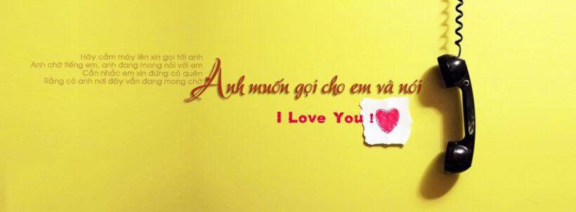 Ảnh bìa tình yêu ngọt ngào cho Facebook