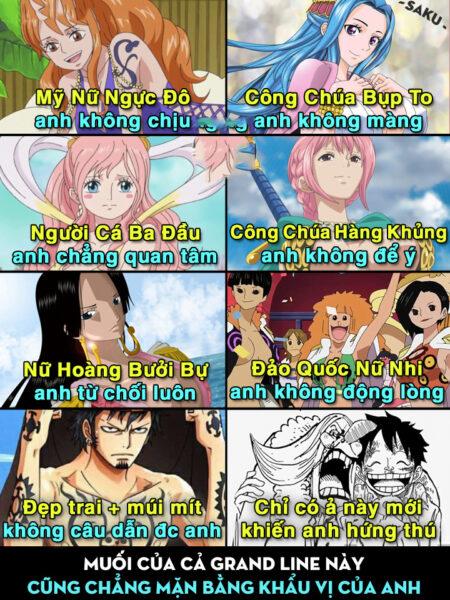 Ảnh chế anime One Piece