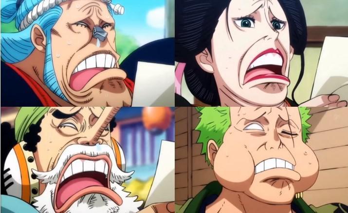 Ảnh chế One Piece cười bể bụng