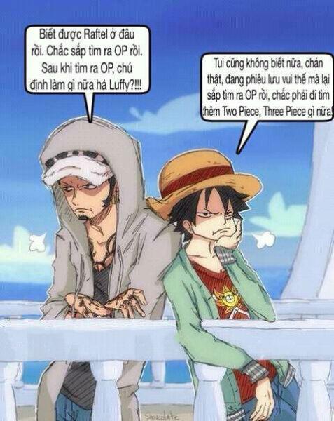 Ảnh chế One Piece độc nhất