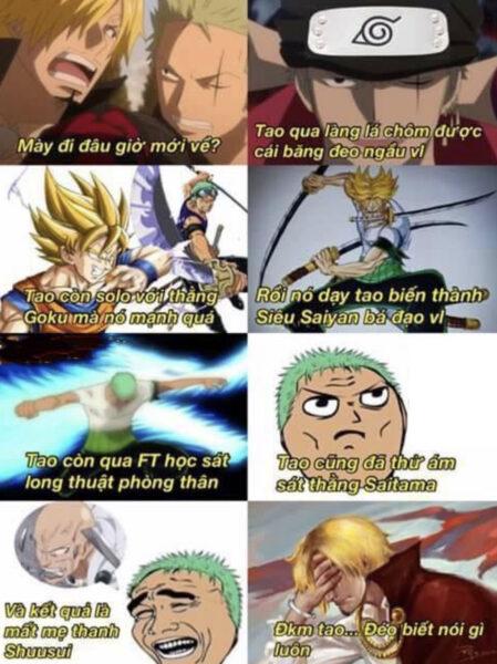 Ảnh chế One Piece hài hước