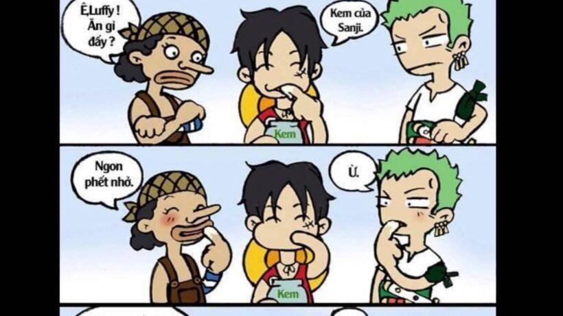 Ảnh chế One Piece ngộ nghĩnh