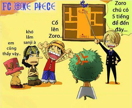 Ảnh chế One Piece siêu hài