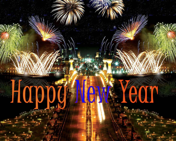 Ảnh chúc mừng năm mới siêu nét