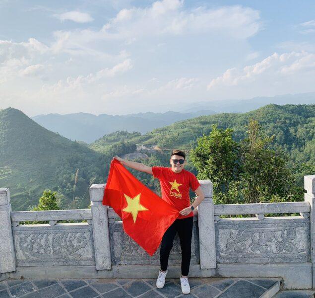 Ảnh cờ đỏ sao vàng tự hào dân tộc