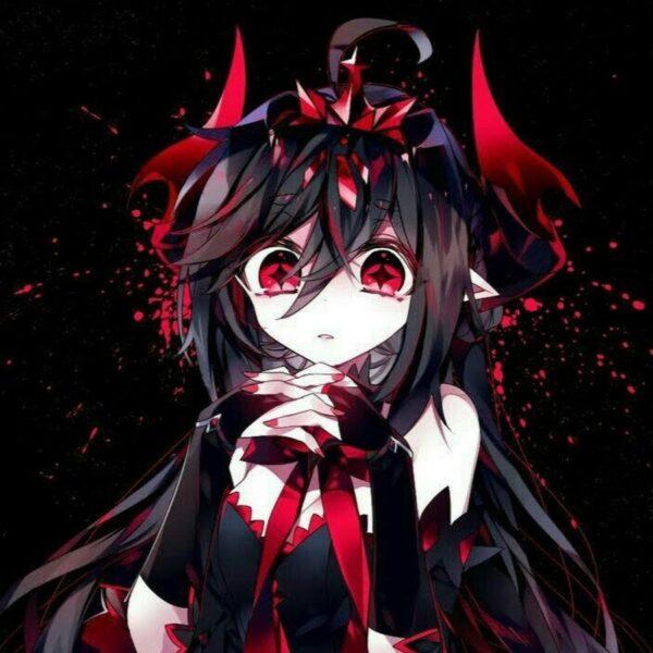 Ảnh cô gái anime ác quỷ