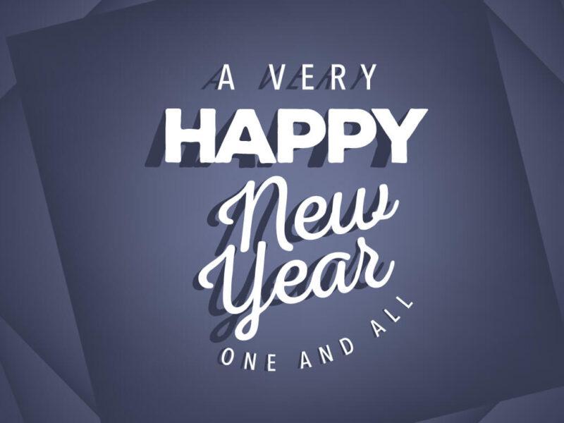 ảnh đơn giản, đẹp chúc mừng năm mới