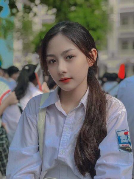 Ảnh gái xinh cấp 2-3 cute